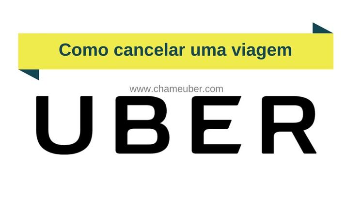 Como cancelar uma viagem com Uber
