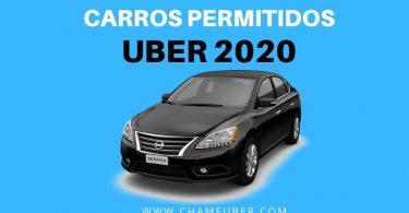 carros permitidos 2020
