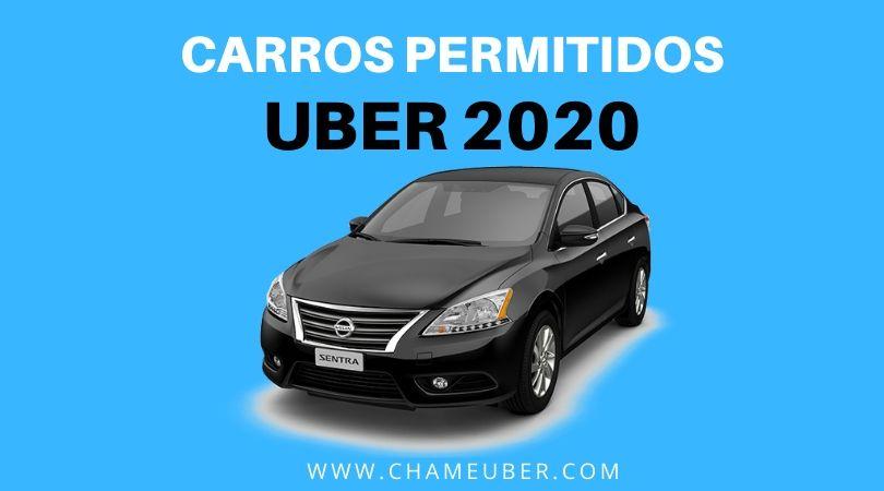 Carros Permitidos Uber 2020