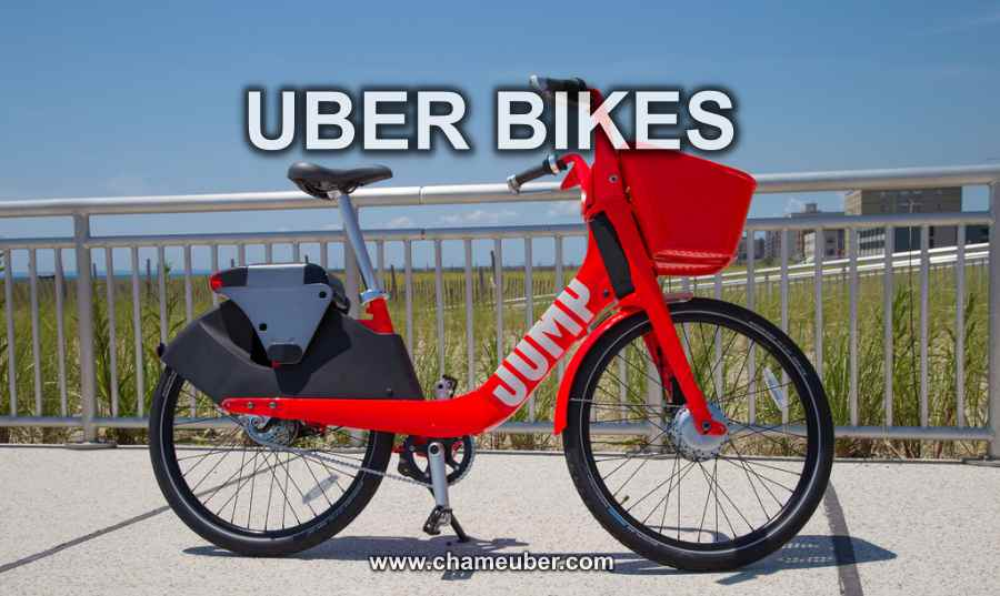 Uber Bikes Jump