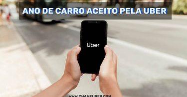 Ano de carro aceito pela Uber 2020