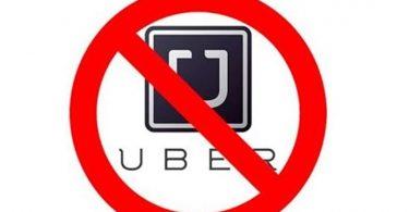 desativação da uber